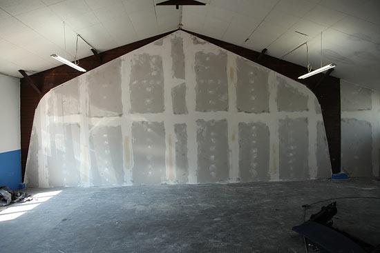 Gipskartonwand als Raumtrenner - Trockenbauweise