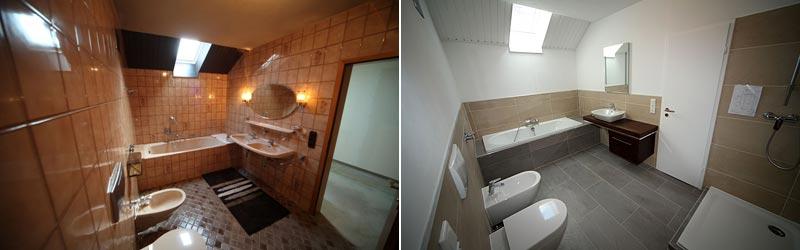 Badumbau mit Badsanierung & Badrenovierung aus einer Hand in Ulm